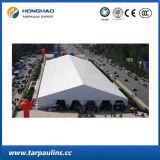 Wit pvc die van de Sterkte van de Kleur anti-Uv Afbaardend Tent vouwen