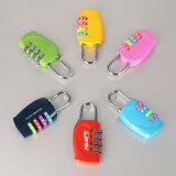 Cadeado Resettable da combinação da mala de viagem/cadeado código da combinação para a bagagem
