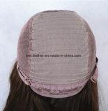 Perucas cheias não processadas do laço do cabelo humano do Virgin de 100% Glueless