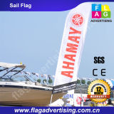 Fábrica Custom Polyester Beach Flag, Teardrop Flag, Flying Banner, Sail Flag Pole