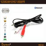 Il nuovo potere Port DJ della batteria USB/SD di 12-Inch Bluetooth Party l'altoparlante