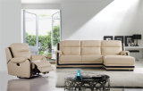 FunktionsFurniture Leather Sofa mit Chaise