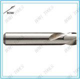 Jogo da mão esquerda do bit de broca do comprimento do intermediário do aço de alta velocidade da flauta