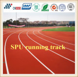 400m Stadium Athletic Synthetic Rubber Running Track / High Quality Race Track