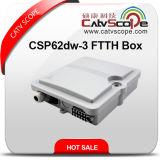 Coffret d'extrémité passif de fibre optique de Csp62dw-3 FTTH/distribution de fibre optique Frame/ODF