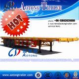 Lage Flatbed Semi Aanhangwagen voor Verkoop