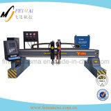 Plasma del CNC del pórtico y máquina estándar de oxicorte