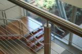 Напольные Railing кабеля нержавеющей стали верхнего качества 316/кабель Balustarde для террасы
