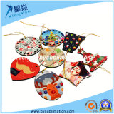 Sublimation Blank MDF Christmas Ornaments