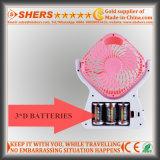Navulbare Ventilator met het 21 LEIDENE SMD Licht van de Lezing, Afzet USB