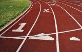 Synthetischer laufender Spur-Oberflächen-Bodenbelag für Sport-Bereich