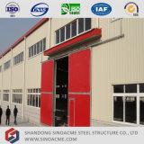 Einzelnes Steigung-Licht-Stahlrahmen-Werkstatt-Gebäude