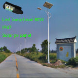 Soalr PV Panel를 가진 새로운 Integrated 70W Solar Street Lights