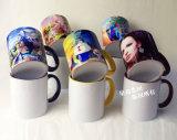 De ceramische Mok van de Kleur van de Rand van de Mokken van de Koffie 11oz