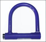 紫色の卸し売りバイクまたは自転車Uの形ロック(BL-024)