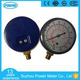 manometro Refrigerant del collegamento della parte inferiore della cassa dell'acciaio di 3 '' 75mm