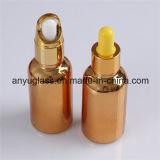 De galvaniserende Flessen van het Druppelbuisje van de Flessen van het Glas van de Essentiële Olie van de Kleur 15ml, 30ml