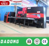 Precio mecánico de la punzonadora de la torreta del CNC del metal de hoja de la fábrica