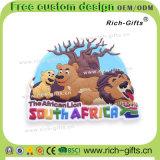 Prodotti del ricordo dei turisti per i regali del magnete del frigorifero del PVC della Sudafrica (RC-SA)