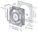 alloggiamento di alluminio di 140mmx140mmx51mm, ventilatore assiale di plastica della ventola DC14051