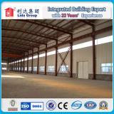 Bello magazzino prefabbricato della struttura d'acciaio
