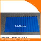Máquina de moldagem de rolo de folha de telhado galvanizado Dx 850
