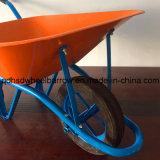 Сильный курган колеса в африканском рынке