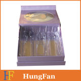 Коробка изготовленный на заказ косметического подарка картона пакета бумажная с крышкой
