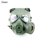 Respiración táctica de la máscara del CS de la cara completa Airsoft que lucha