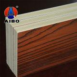 Tarjeta laminada grano de madera casero de la decoración 4X8 para los paneles de la cabina/de pared de cocina