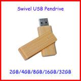 USB 2.0 Aandrijving van de Flits van de Wartel USB van Pendrive Thumbdrive de Houten