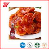Salsa de tomate de tomate plástica de la botella de 340 G de la marca de fábrica de Vego