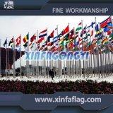Drapeau de pays de haute qualité / drapeau publicitaire et drapeaux suspendus