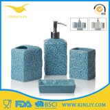 Insieme accessorio lustrato di ceramica moderno del bagno della stanza da bagno del rifornimento