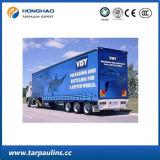 PE van de Dekking van de Vrachtwagen van China de Fabrikant van het Geteerde zeildoek, de Fabriek van Shanghai