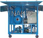 Equipamento dobro da filtragem do petróleo do transformador do vácuo dos estágios de Zyd