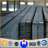 Barra plana de acero galvanizada y negra de alta resistencia