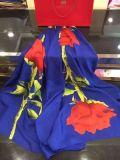 Sciarpa di seta stampata Digtial personalizzabile di alta qualità alla moda