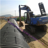 Q235 Material Metal Corrugated Culvert Pipe da vendere