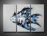 Pintura de pared abstracta de la lona de Hotseller
