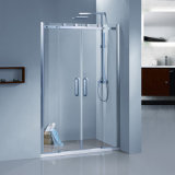 Shower DoorかShower Cabin/Glass Shower Door/Bathroomの滑走