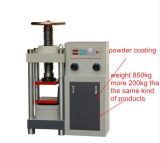 equipo de prueba concreto manual de la compresión 300t