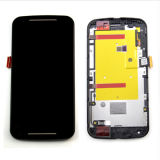 フレームとのMotorola Moto G2 LCDスクリーンの接触のための卸し売り携帯電話の部品