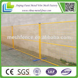PVC móvel Coated 6ftx10ft Canadá Temporary Fence