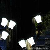 2016 luzes solares ao ar livre de acampamento de suspensão do diodo emissor de luz da alta qualidade