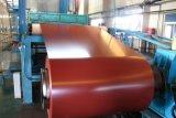 A cor dos materiais de construção de Jinhu revestiu as bobinas de alumínio/bobinas de alumínio gravadas da telhadura