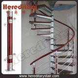 Escadaria espiral de alumínio para a economia do espaço (SJ-3001)