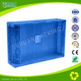 caixas moventes plásticas Stackable da dobradura industrial de 650*435*160mm