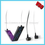 水晶音質の無線Bluetoothのヘッドセットのヘッドホーン
