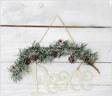 Décoration pendante de branchements pour Noël